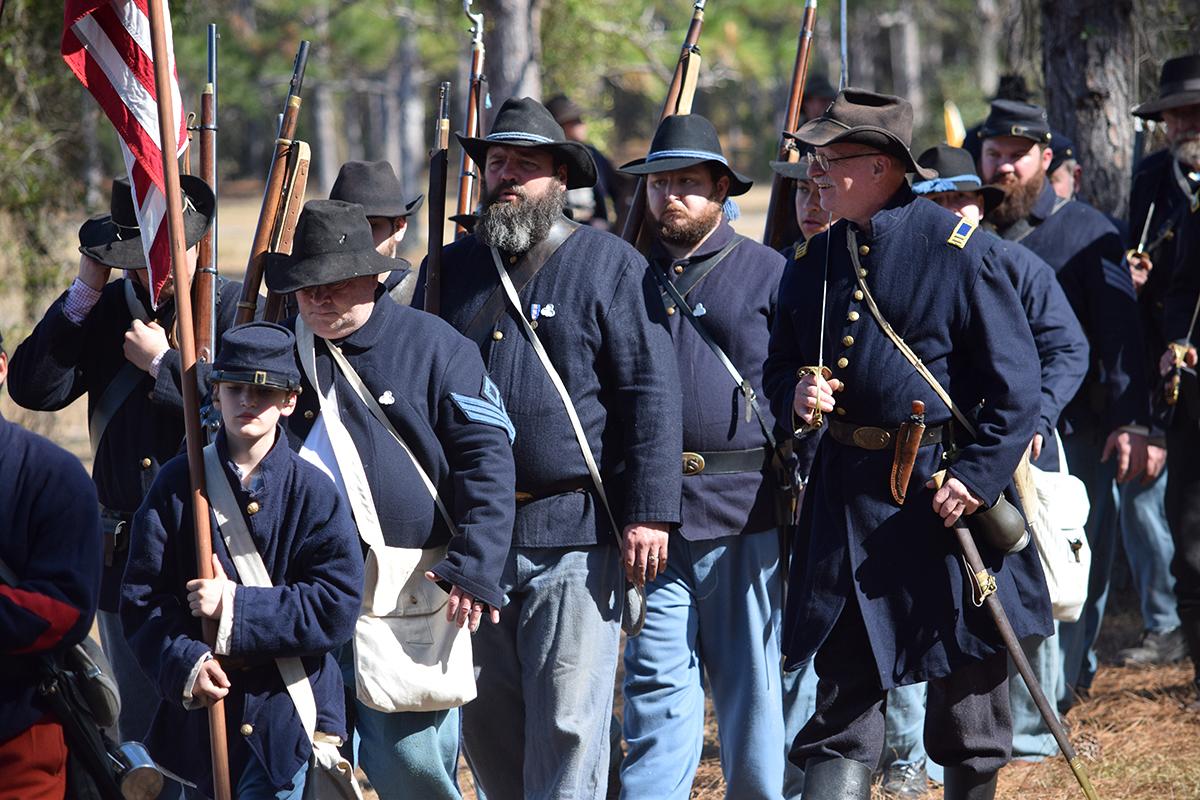 38th Annual Brooksville Raid Civil War Reenactment in